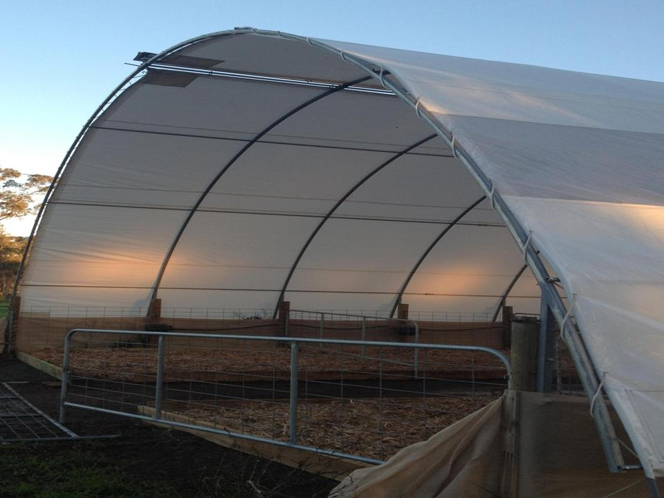 Cover It Shelters : Tunnel shelter covers c e bartlett manufacturing