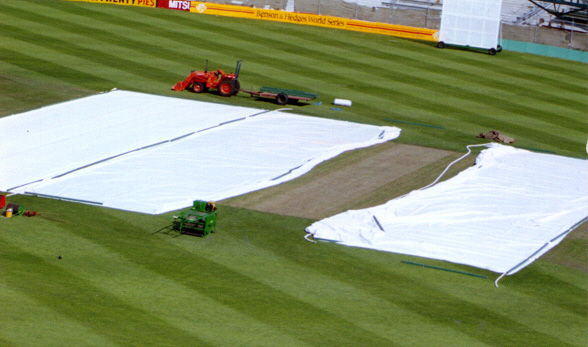 Cricket Pitch Covers By Bartletts Used On Major Test