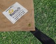Bartlett  Hessian Cricket Wicket Pitch Cover - Drag Handle