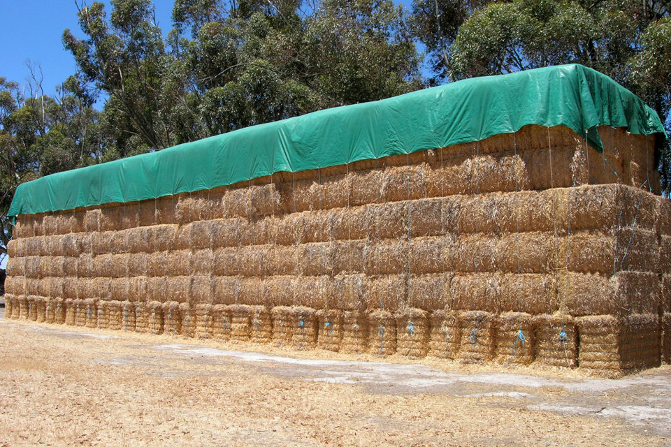 Grain Bunker Covers Perfect Temporary On Farm Storage Of